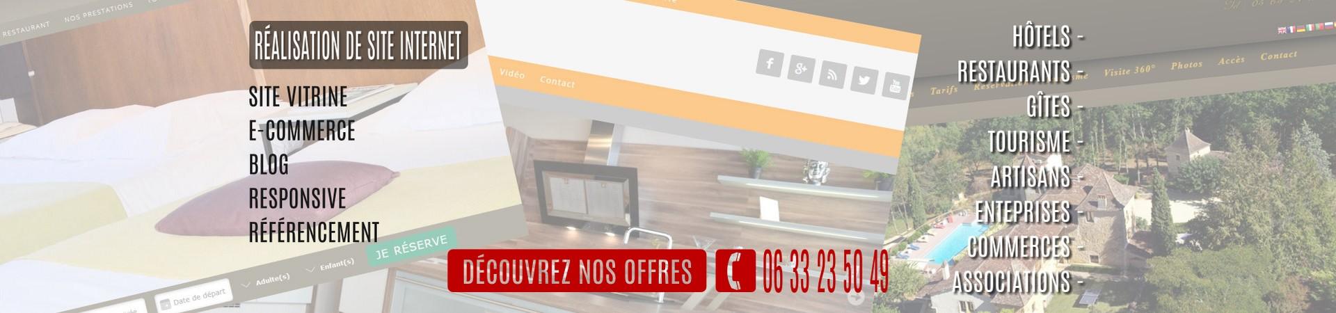 Création de site internet Auvergne Rhône-Alpes