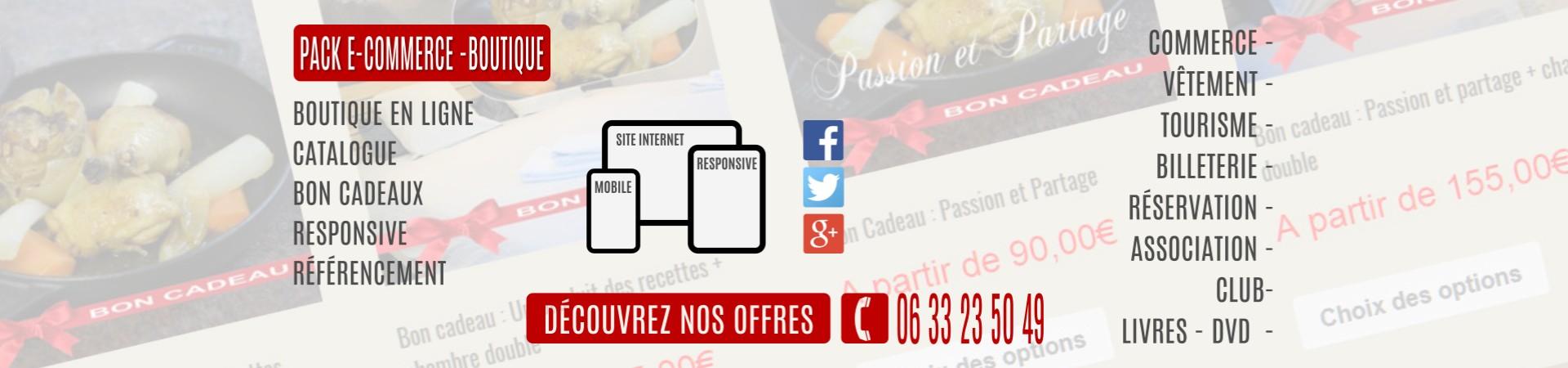E-commerce Boutique en ligne Woocommerce