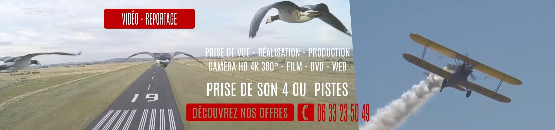 Réalisation Production de vidéo